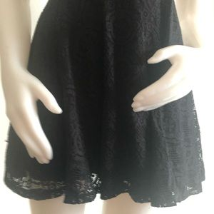 miami Dresses - Miami Black Lace Dress XS